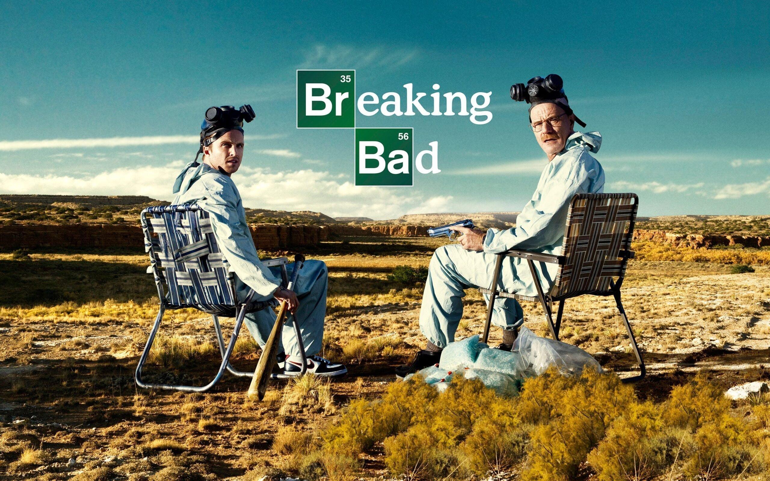 Breaking bad dizisinden Walter White ve Jesse Pinkman