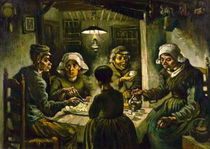 The potato eaters, Patates yiyenler