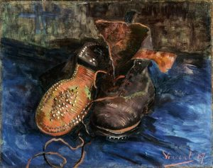 a pair of shoes , Van Gogh