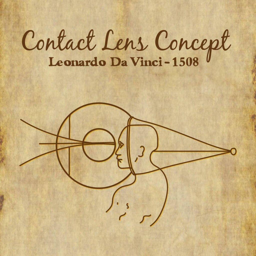 Da Vinci Kontakt Lens Konpsepti
