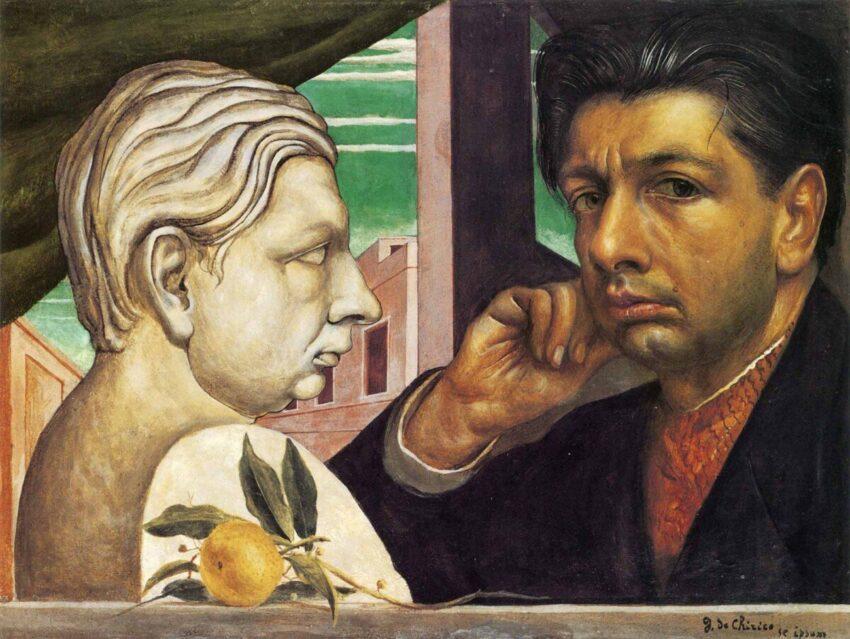 Kendi Portresi, Giorgio De Chirico