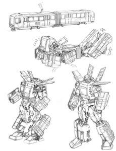 transformers oyuncak tasarımı
